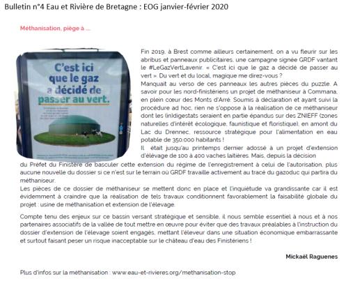 Bulletin n°4 EOG janvier-février 2020 (Eau et Rivières de Bretagne)
